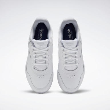 Men Walking White Walk Ultra 7 DMX MAX Wide Men's Shoes