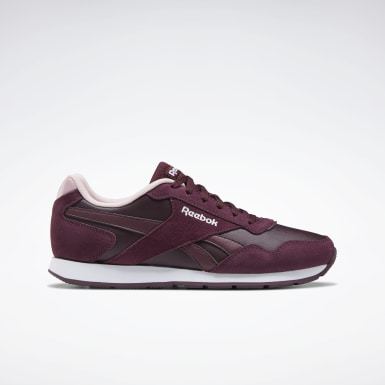Frauen Classics Reebok Royal Glide Shoes Weinrot