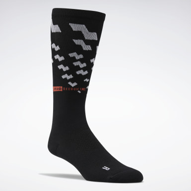 Fitness & Training Black One Series Training Crew Socks