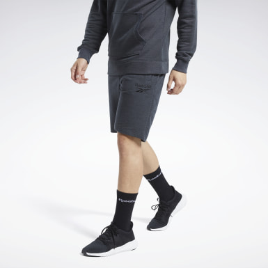 TE Melange Short Negro Hombre Fitness & Training
