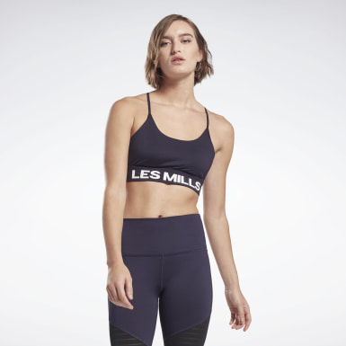LES MILLS® Tri-Back Medium-Impact Bra