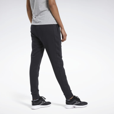 Kvinder Fitness & Training Black Training Essentials Linear Logo Pants