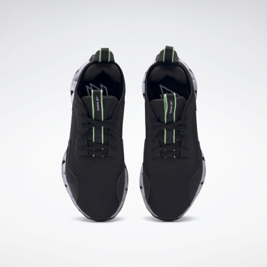 Women Running Black Zig Dynamica Shoes