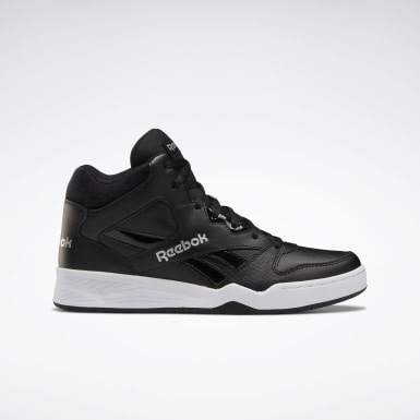 Kvinder Classics Black Reebok Royal BB4500 Hi 2 Shoes