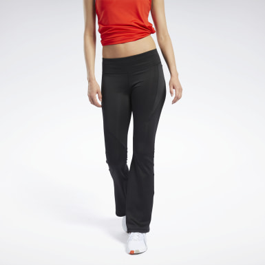 Women Dance Black Workout Ready Program Pants