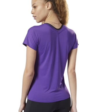 Women Fitness & Training Purple ACTIVCHILL Tee