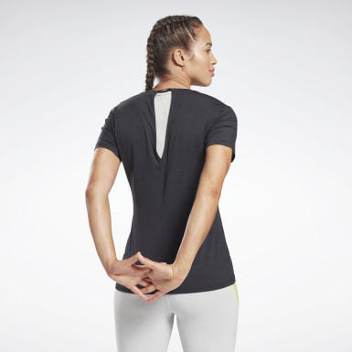 T-shirt Activchill Athletic Noir Femmes Yoga