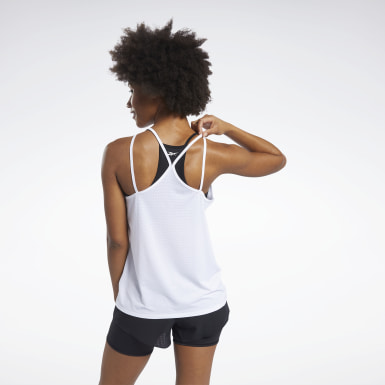 Women Cycling White SmartVent Tank Top