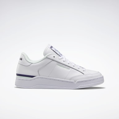 Women Classics White AD Court Shoes