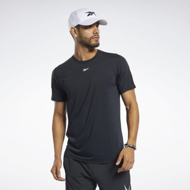 Playera ACTIVCHILL Move Negro Hombre Fitness & Training