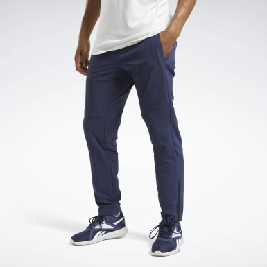 Men HIIT Blue United By Fitness Woven Pants