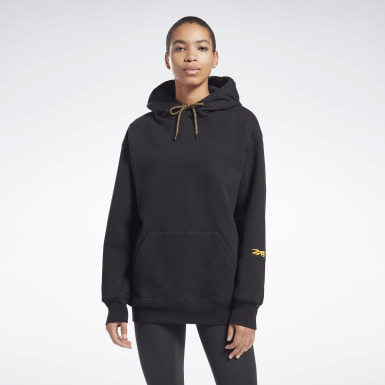 Women Fitness & Training Black VB Hoodie