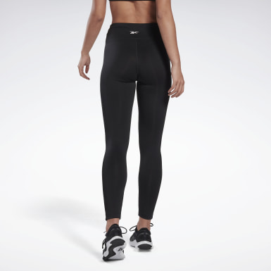 Women Training Black Workout Ready High-Rise Leggings