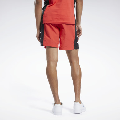 Men Classics Red Classics Shorts