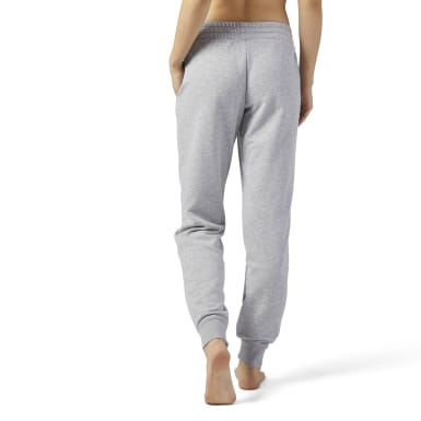 Women Training Grey Training Essentials French Terry Pant