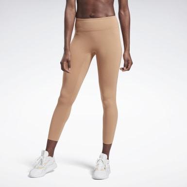 Women Fitness & Training Beige VB Classic 7/8 Tights