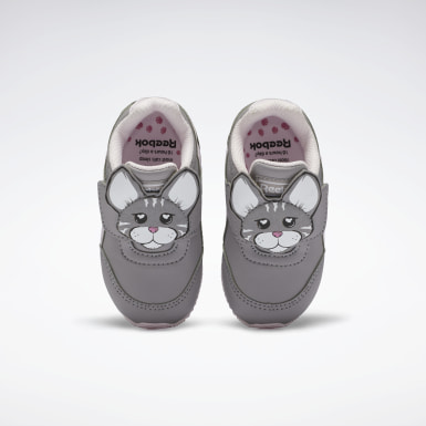 Kids Classics Grey Reebok Royal Classic Jogger 2.0 Shoes