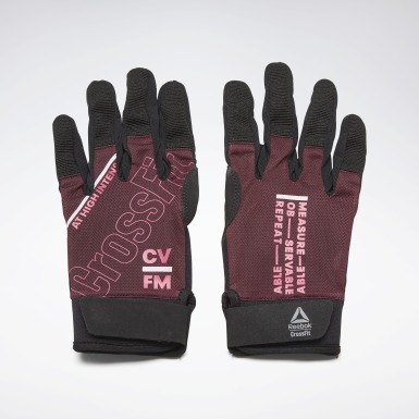 Frauen Cross Training CrossFit® Training Gloves Weinrot