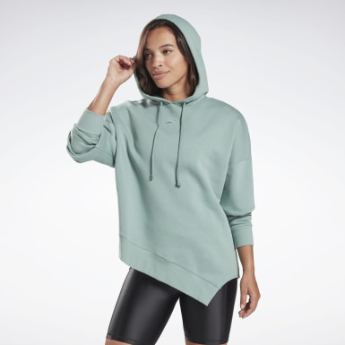 Frauen Yoga Studio Cozy Fashion Hoodie Grün