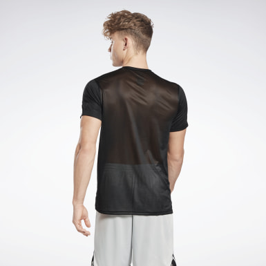 Men Fitness & Training Black Workout Ready Tech T-Shirt