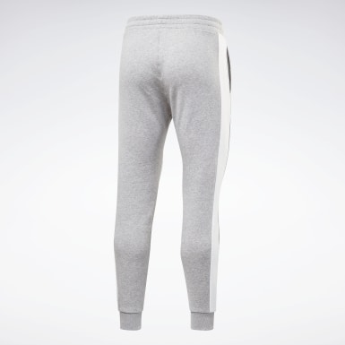 Heren Fitness & Training Grijs Training Essentials Linear Logo Joggingbroek