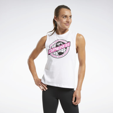 Women Training White Reebok CrossFit® Open 2021 Tank Top