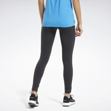 Women Training Black Reebok Lux High-Rise 2 Leggings
