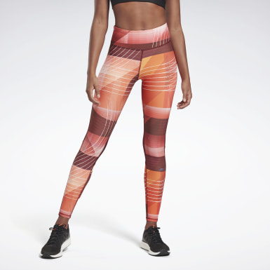 Dames Trail Running Rood Running Lux Bold Legging