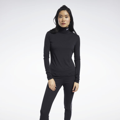 Women Classics Black Classics Turtleneck