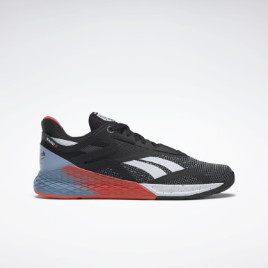 Men Fitness & Training Black Reebok Nano X Shoes