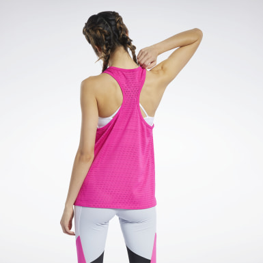 Women Fitness & Training Perforated Tank Top