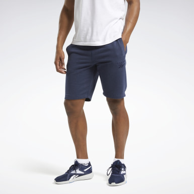 Men Fitness & Training Blue Training Essentials Shorts