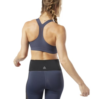 Women Yoga Blue Reebok PUREMOVE Bra