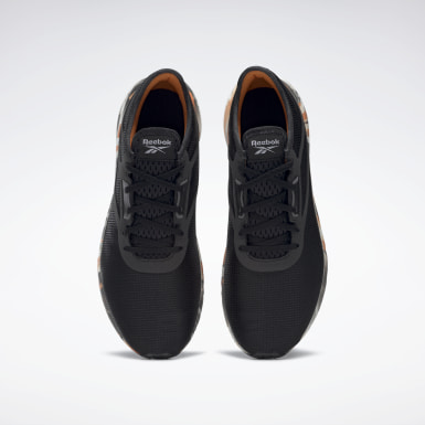 Men Running Black Reebok Flashfilm 3 Shoes