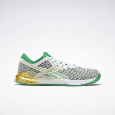 Men Training White Reebok Nano 9 Men's Training Shoes