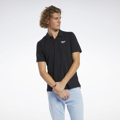 Men Classics Black Classics Polo Shirt