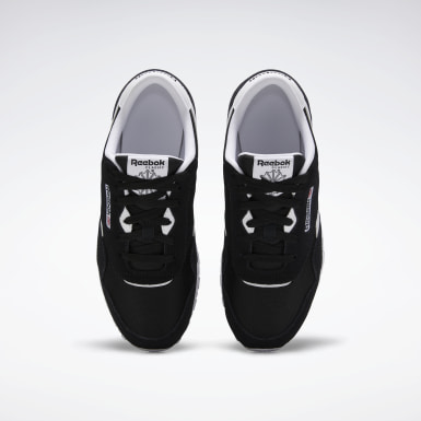 Boys Classics Black Classic Nylon Shoes