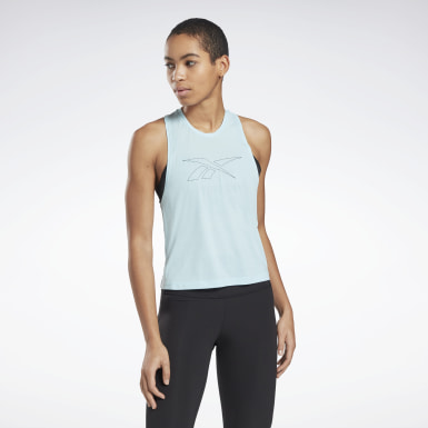 Women Yoga Workout Ready ACTIVCHILL Tank Top