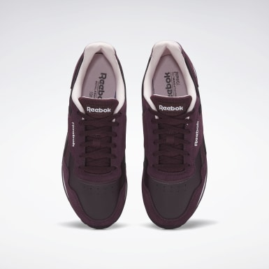 Women Classics Burgundy Reebok Royal Glide Shoes