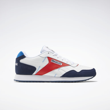 Men Classics White Reebok Classic Harman Run Ripple Shoes