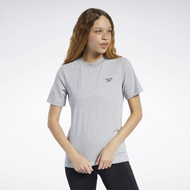 Women Fitness & Training Grey Training Essentials Easy Tee