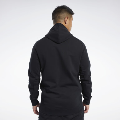 черный Худи Reebok Legacy Full-Zip