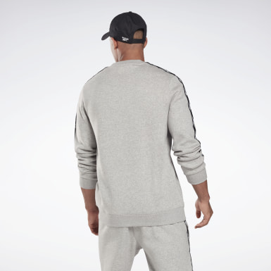 Jersey Training Essentials Tape Crew Gris Hombre Fitness & Training