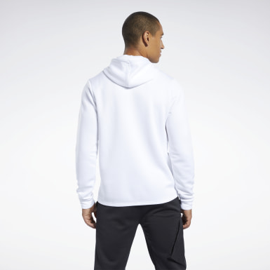 Men Fitness & Training White Speedwick Hoodie