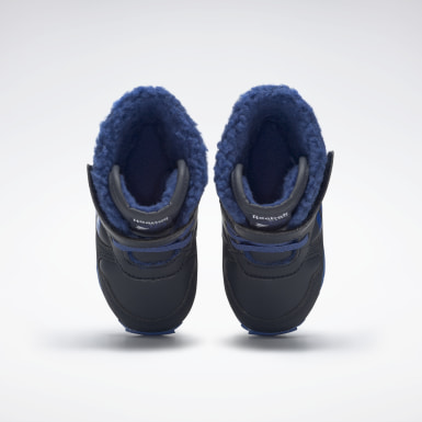 Infants Classics Reebok Classic Jogger Snow Shoes Blau