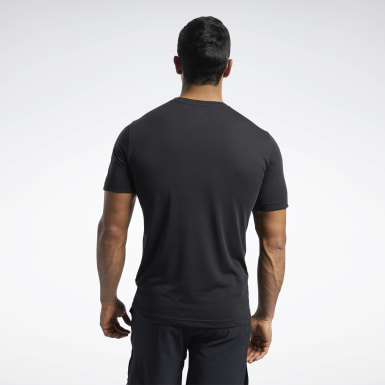 Men Training Black Reebok CrossFit® Read Tee