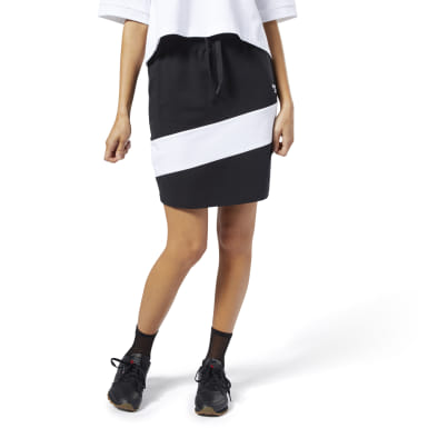 Women Classics Black Classics Vector Jersey Skirt