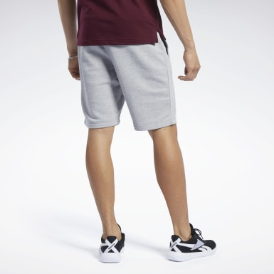 TE Melange Short Plomo Hombre Fitness & Training
