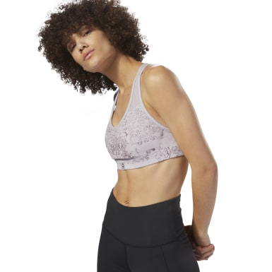Reebok Hero Racer Padded Bra - Dismantled Flora