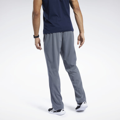 Men Hiking Grey Training Essentials Woven Unlined Pants